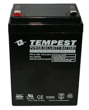 Long Way 6fm2 6b Replacement Battery 12 Volt 3 Ah