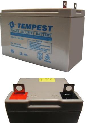 12v 9ah Tr9 12a Tempest Agm Valve Regulated Maintenance