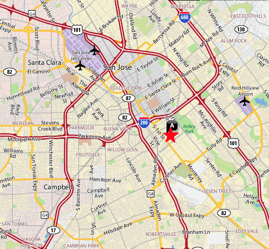 batteryspec address map