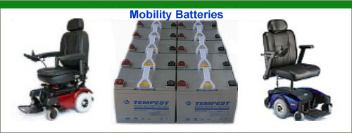 Wheelchair Replacement Batteries from BatterySpec.com